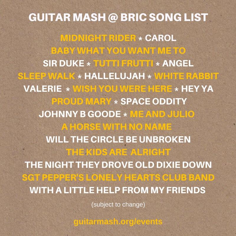 Guitar Mash A Campfire Jam Bric